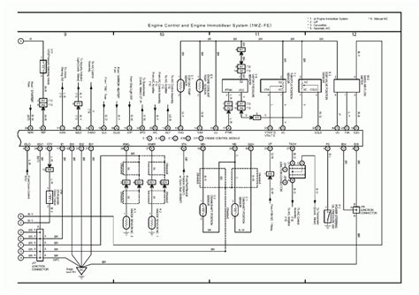 toyota solara wiring diagrams wiring diagram with