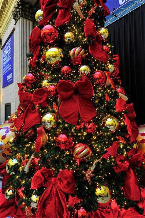 elegantly decorated trees traditional and gold decor home interiors
