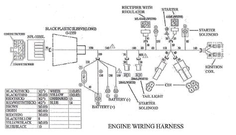 honda gx 620 wiring diagram honda gx340 wiring diagram