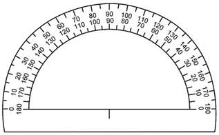 protractor template to print places to get free printable rulers