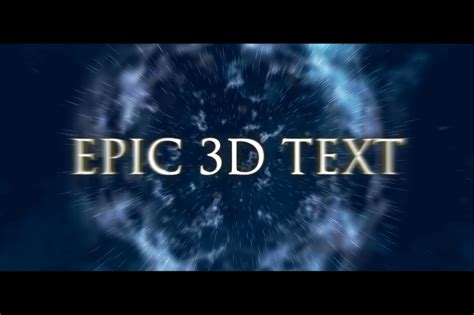 epic film titles cinematic movie titles after effects template filtergrade