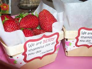 What a cute way to use our wooden berry baskets who knew that
