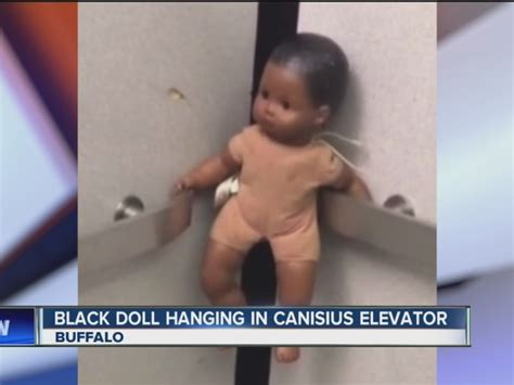 black doll noose black doll with noose found at canisius college abc15
