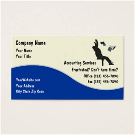 accounting business card templates bookkeeping business cards templates zazzle
