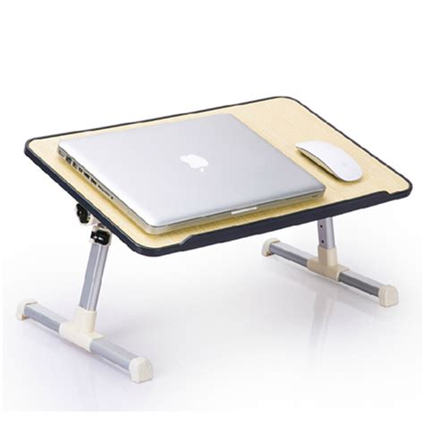 Ergonomic Foldable Portable Laptop Table Notebook Desk Laptop Bed Desk