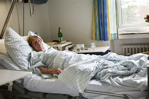 patient in hospital bed overworked staff leads to patients spending too much time