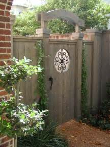 backyard gates best 25 wooden garden gate ideas on
