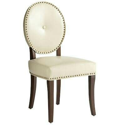 cadence dining chair pier 1 white
