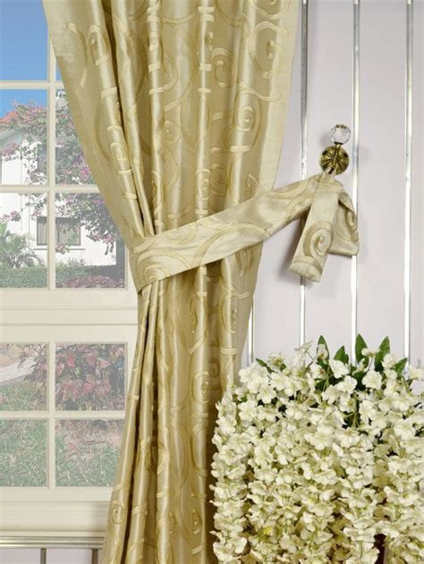 curtains that go with beige walls i have a lemon and cream chairs and white wall waht