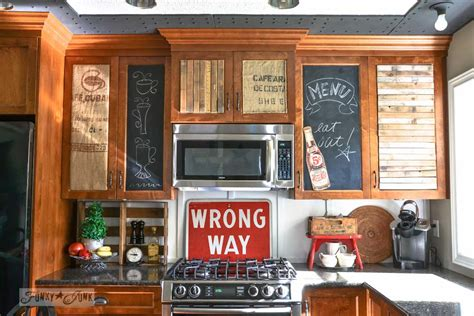 funky kitchens junkers unite with junky kitchen cabinets a pin board and