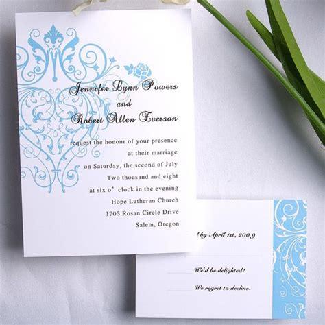 invitesweddings coupon codes exclusive blue wedding invitation iwi111