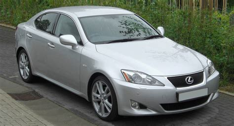 silver lexus file lexus is250 silver jpg wikimedia commons