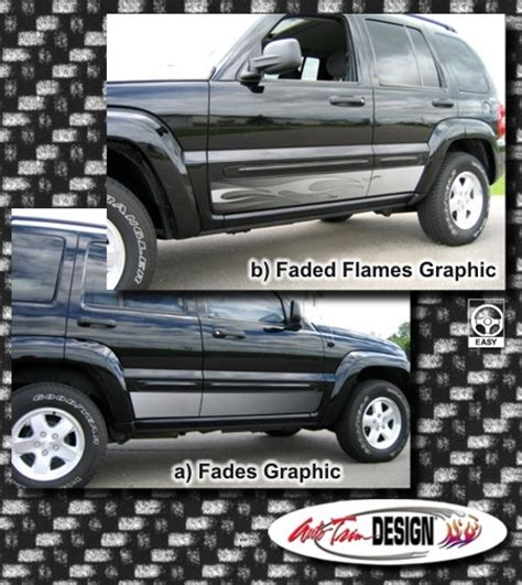 Jeep Liberty Rocker Panel Rocker Panel Graphic Kit 3 For Jeep Liberty