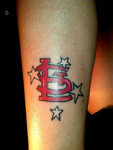 st louis cardinals tattoo tattoos pinterest