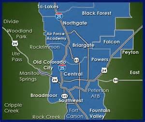 map colorado springs neighborhoods