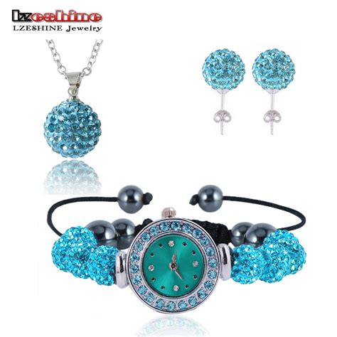 new 10mm balls shamballa set earrings