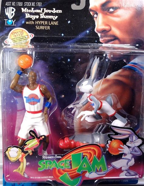 Playmates Space Jam Michael And Bugs Bunny Hyper Surfer michael figure guide