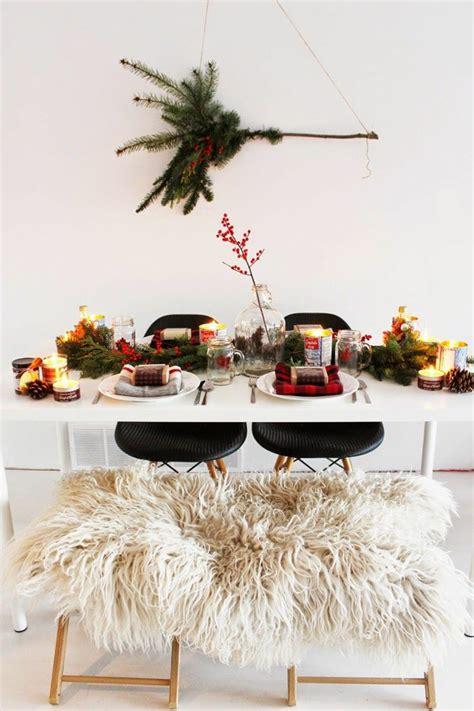 skandinavische dekoration weihnachtliche tischdeko im skandinavischen stil