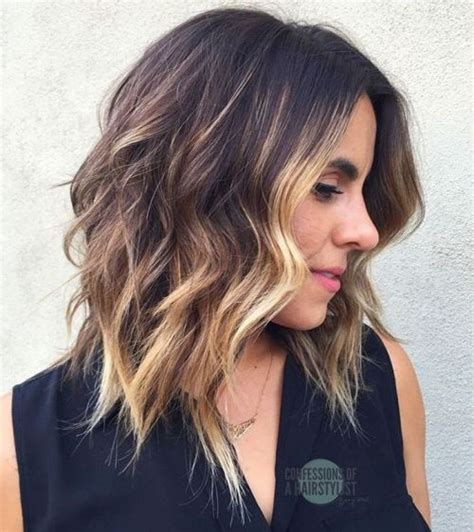 womens mid length sculptured hair styles 60 fun and flattering medium hairstyles for women of all ages