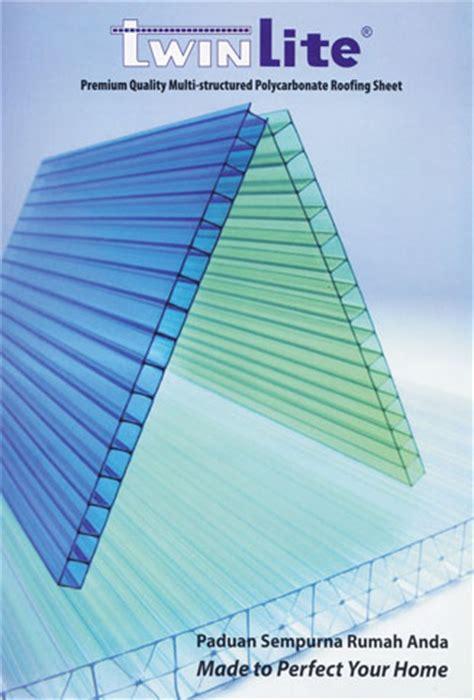 Acrylic Untuk Atap atap polycarbonate twinlite daftar harga bahan bangunan