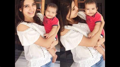 actress samantha parents pics actress samantha unseen family personal video youtube