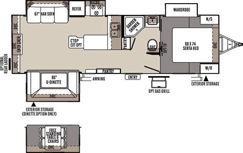flagstaff travel trailer floor plans access rv