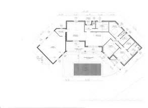 plan en u maison moderne