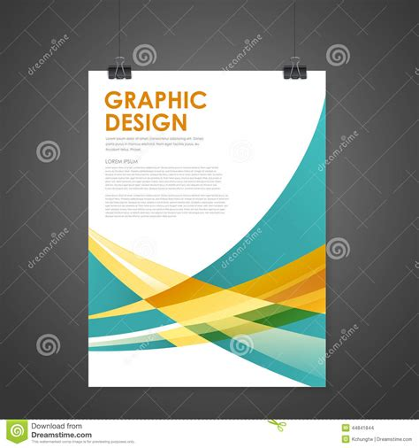Abstract Modern Poster Template Stock Vector Image 44841844 Poster Abstract Template