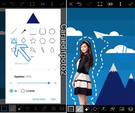 tutorial edit picsart keren tutorial picsart cara edit foto scrapbook 3d di android