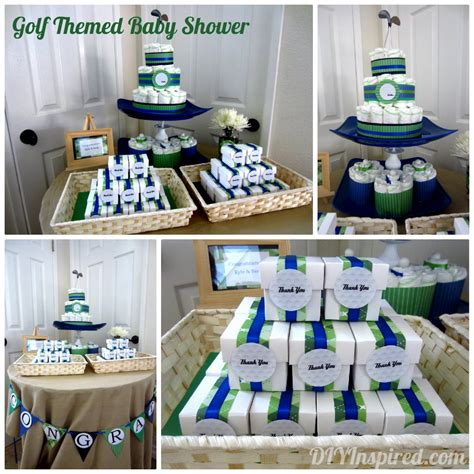 Themed Baby Shower Ideas by Golf Themed Baby Shower Diy Inspired