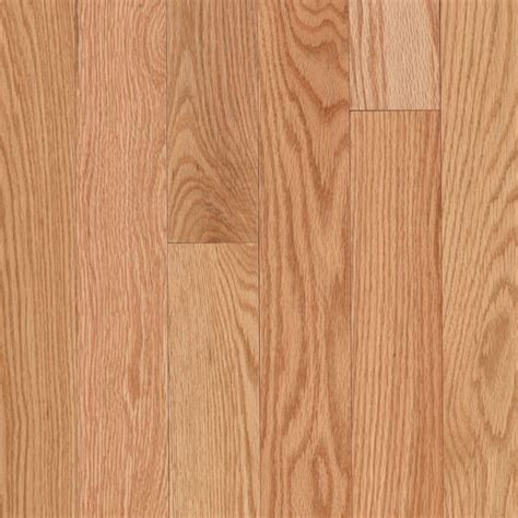 Prefinished Solid Hardwood Flooring Mohawk 3 25 In W X 75 In Thick Prefinished Oak Solid Hardwood Flooring Oak Lowe S