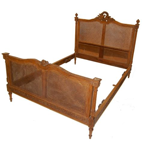 Very Fine French Cane Bed Circa 1900 250905