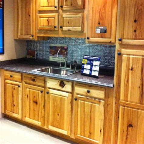 Lowes Hickory Kitchen Cabinets Denver Hickory Cabinets These A Lot More Character Than Ours Barbara Whitlow Bills