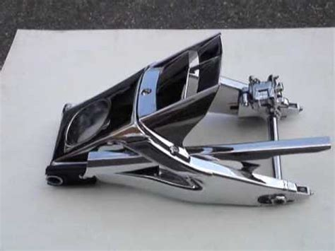 swing arm r6 06 to 09 r6 chrome swing arm kit youtube