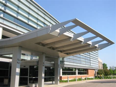 architectural metal awnings architectural accents and canopies cnc metalcraft
