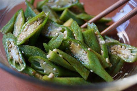 okra salad recipe japanese cooking 101