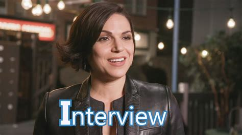 lana parrilla interview youtube once upon a time 6x20 interview lana parilla regina evil