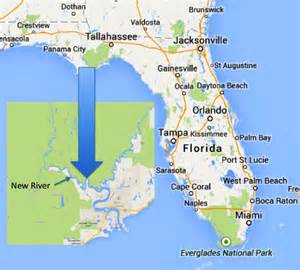 ta florida area map the new river the real florida stephen l tabone