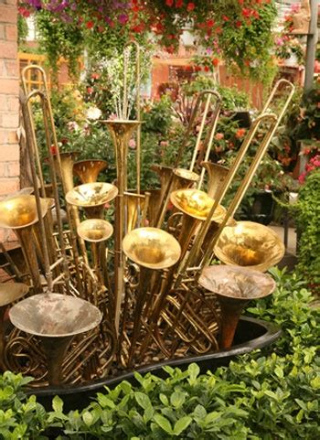 backyard instruments 31 best images about repurposing musical instruments on