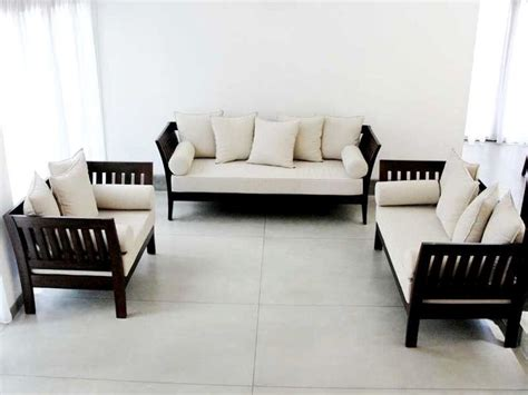Wooden Sofa Set Designs With Price In Kolkata The 25 Best Ideas About Wooden Sofa On Wooden
