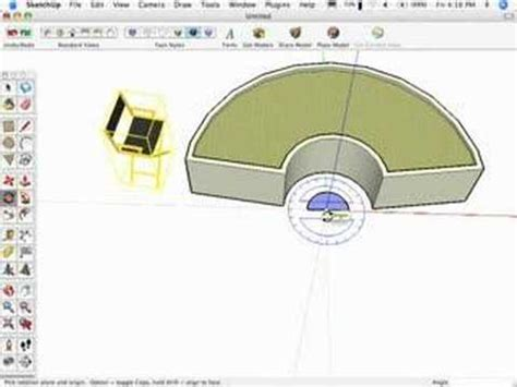 sketchup layout rotate view sketchup move rotate chairs pt 1 sketchup show 15