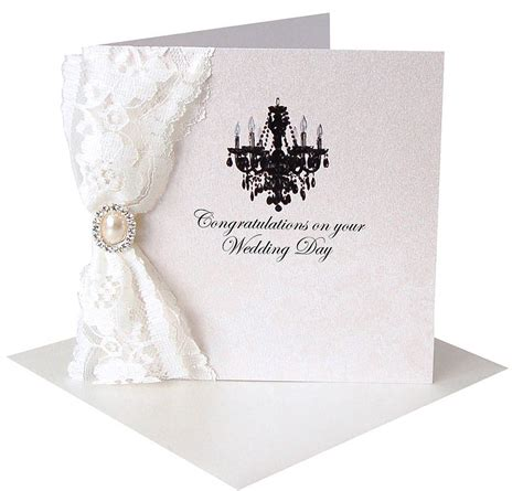 Wedding Anniversary Card Not On The High by Lace Congratulations Card By Made With Designs