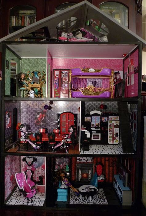 monster high houses dyi monster high house main view monster high dolls com