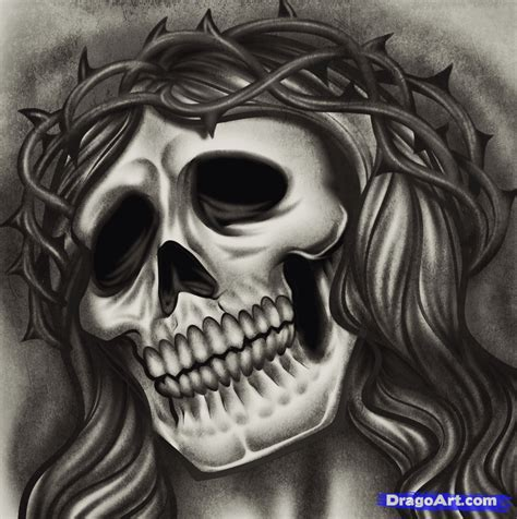 how to draw a jesus tattoo jesus tattoo step by step