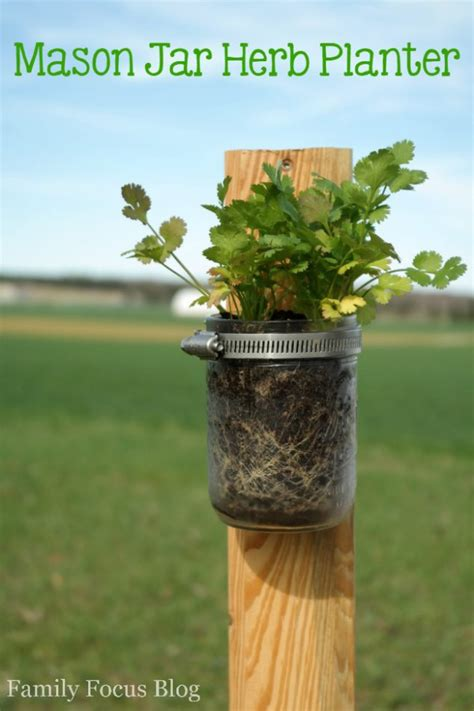 Jar Herb Planter by Jar Herb Planter Family Focus