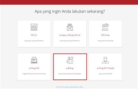 cara bayar pajak dengan ebilling e billing pajak cara bayar pajak online onlinepajak