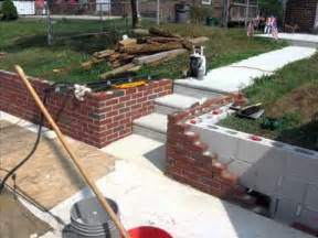front yard brick wall front yard makeover retaining wall project