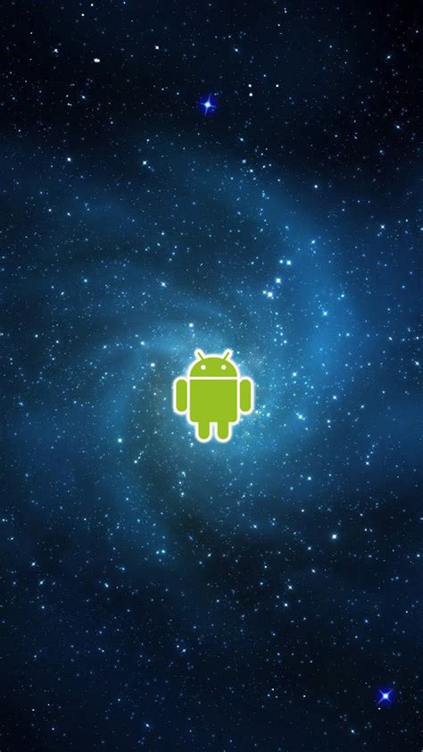 wallpaper galaxy for android android logo galaxy universe android wallpaper free download
