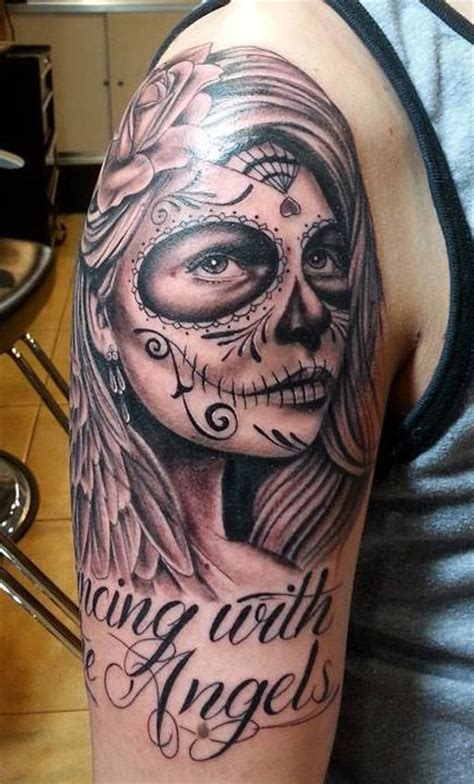 dead crow tattoo day of the dead with the by