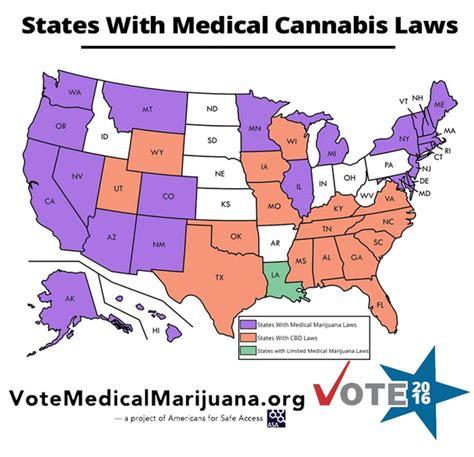 medical marijuana in united states map 2016 map states with medical marijuana laws